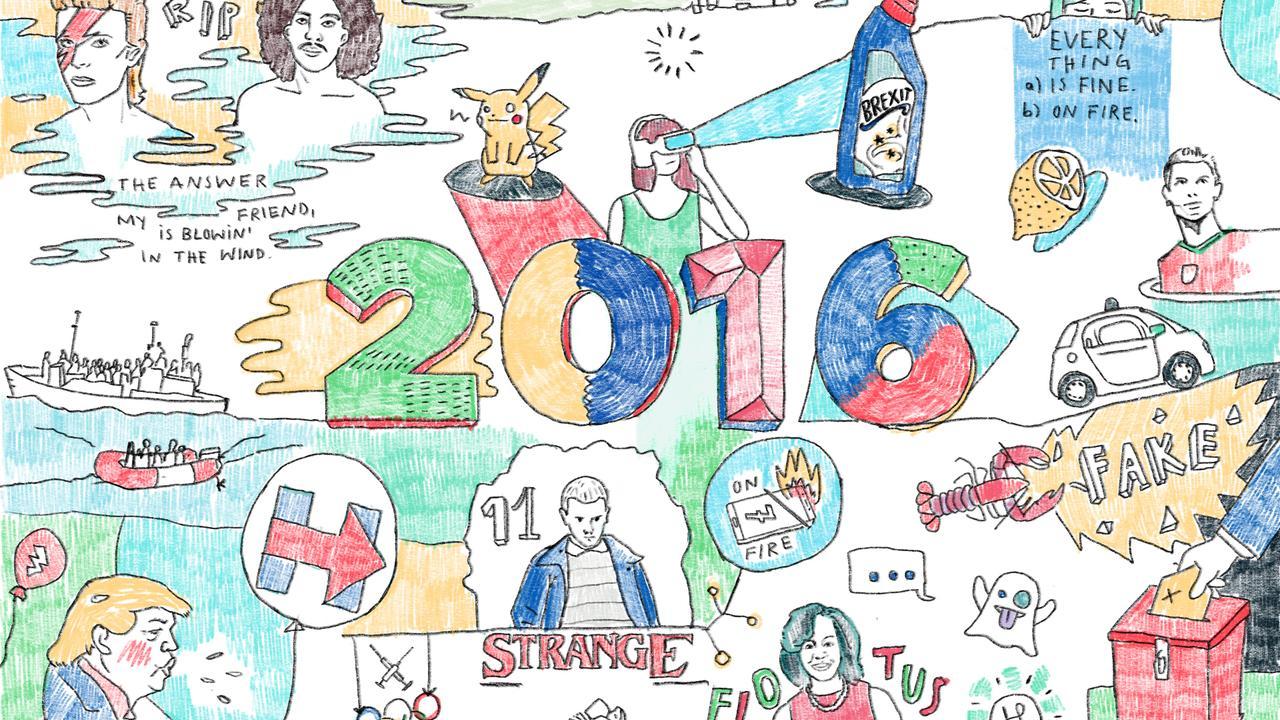 Hängengeblieben 2016 Illustration