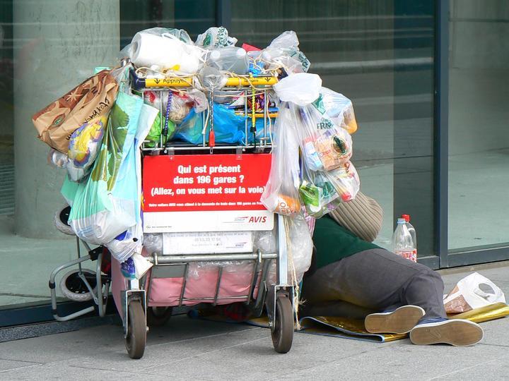 Hängengeblieben 2016 Obdachlosenhass