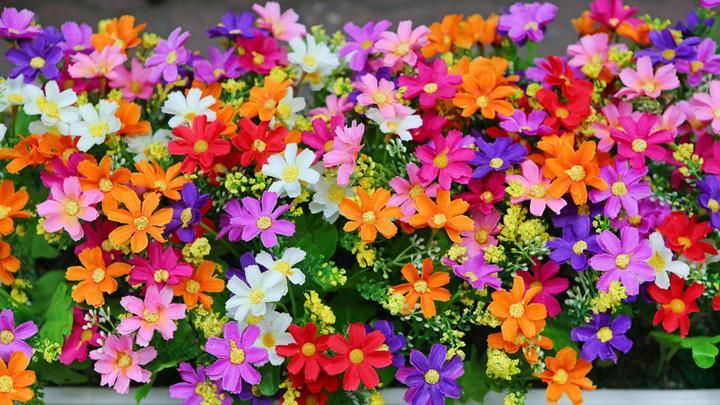 Fake-Blumen