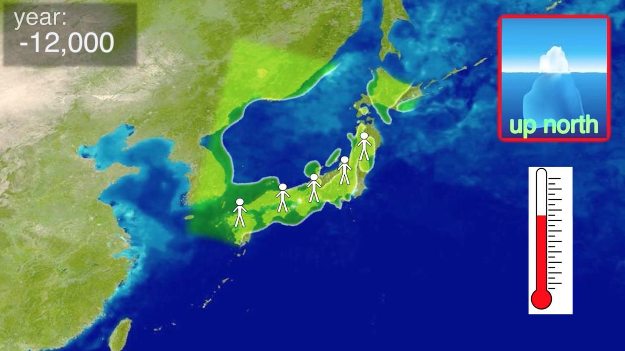 Gute Karten Japan 40000 Jahre Bill Wurtz