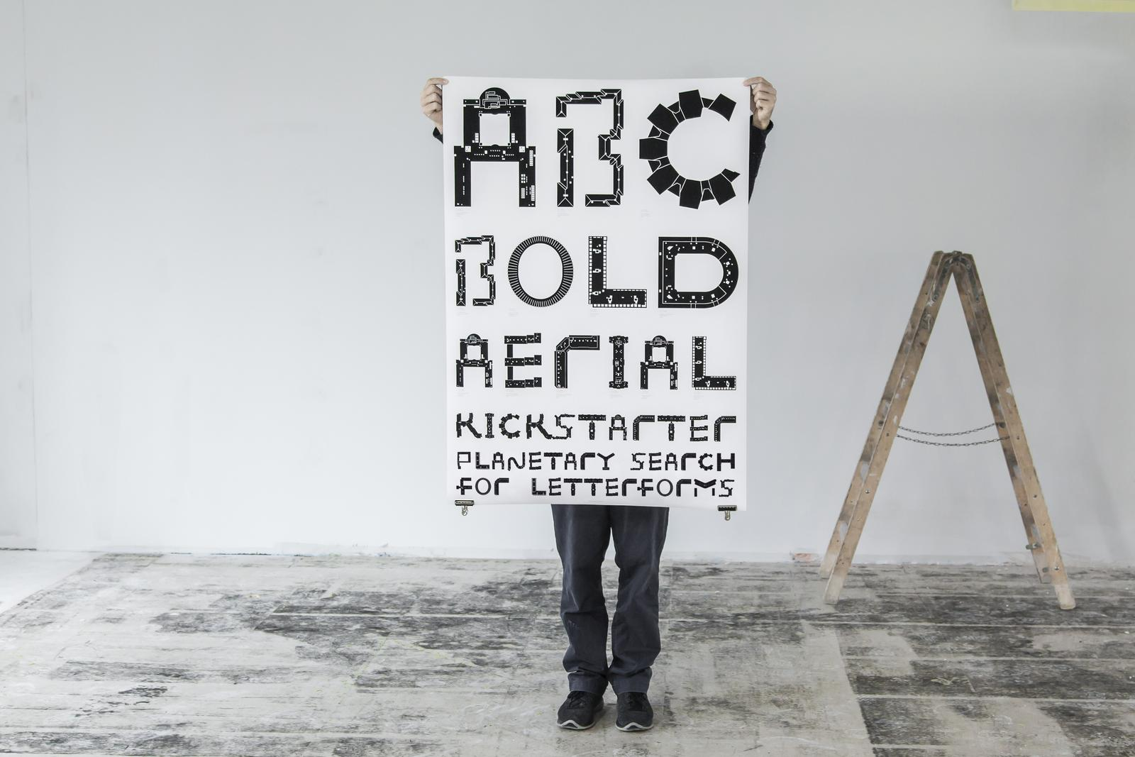 The Aerial Bold Project Font 3