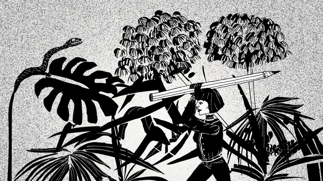 Fragmente einer Großstadt  Im Dschungel der Kreativen –  Berufsbild Illustratorin start