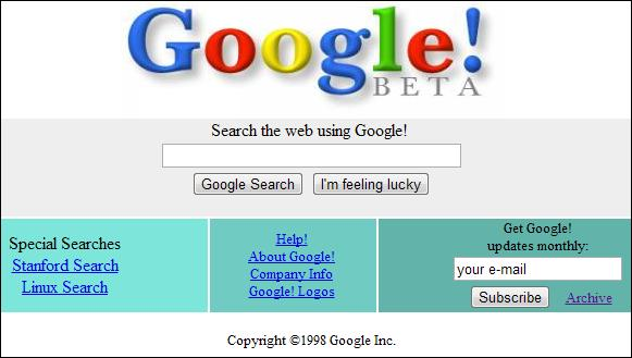 Google Screenshot UDC II/2