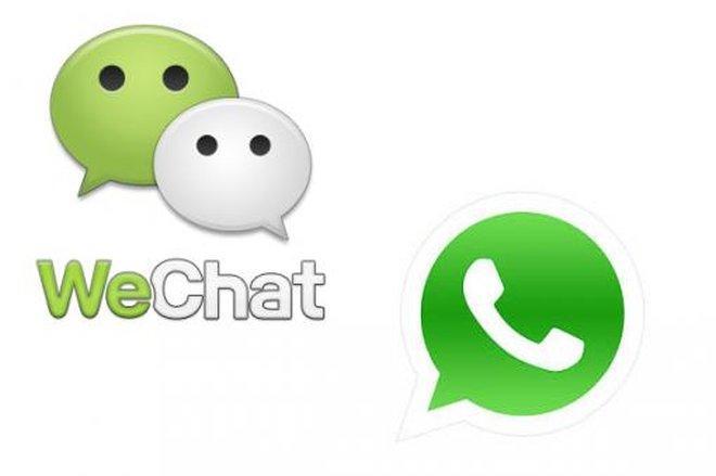 WeChat WhatsApp Logo