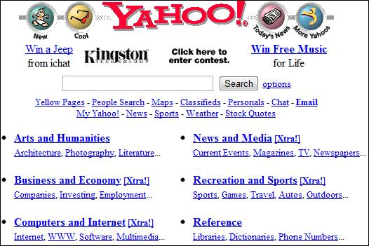 Yahoo Screenshot UDC II/2