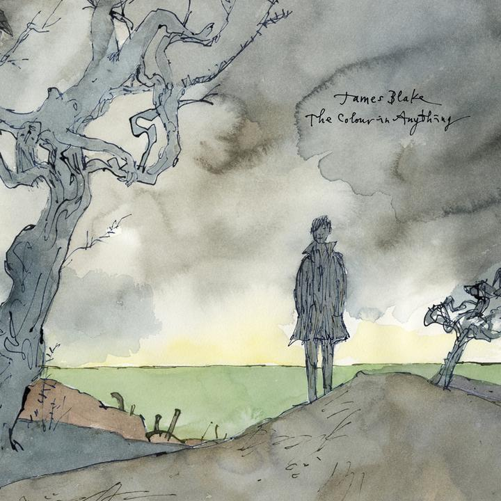 James Blake The Colour In Anything Cover