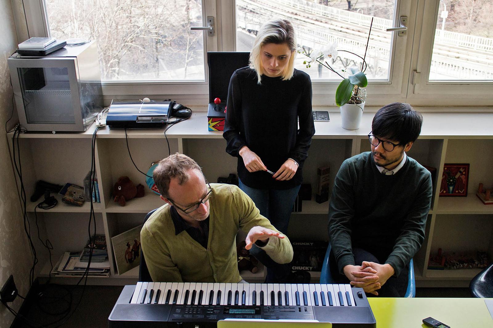 Jasmin, Florian und Ji-Hun