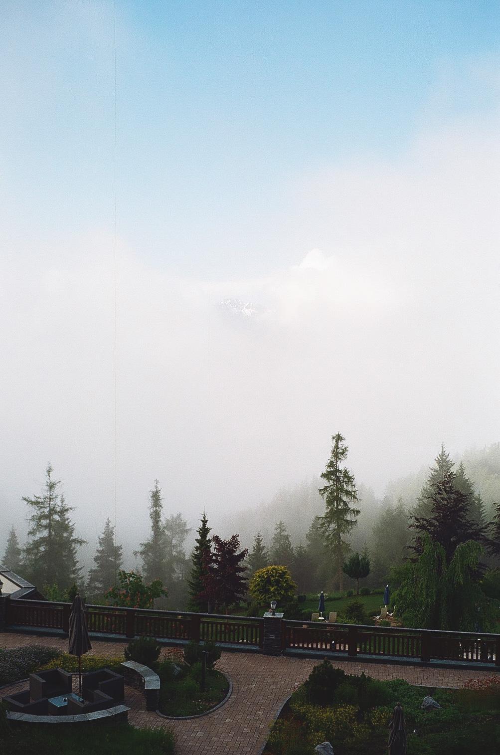 Seefeld Interalpen panorama hochkant