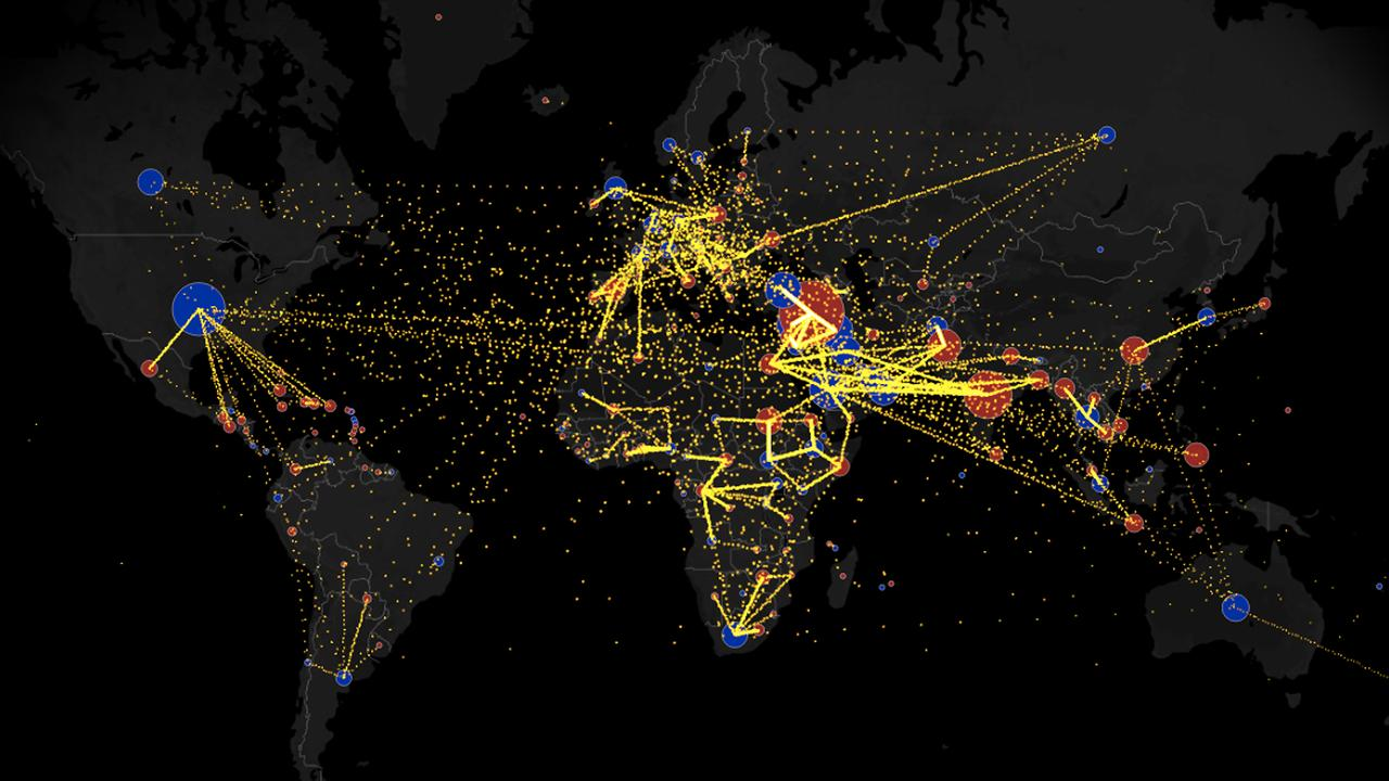 global migration map