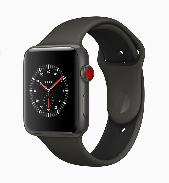Apple Watch Series 3 Presse