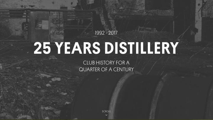 Leseliste 25 Jahre Distillery 20171022