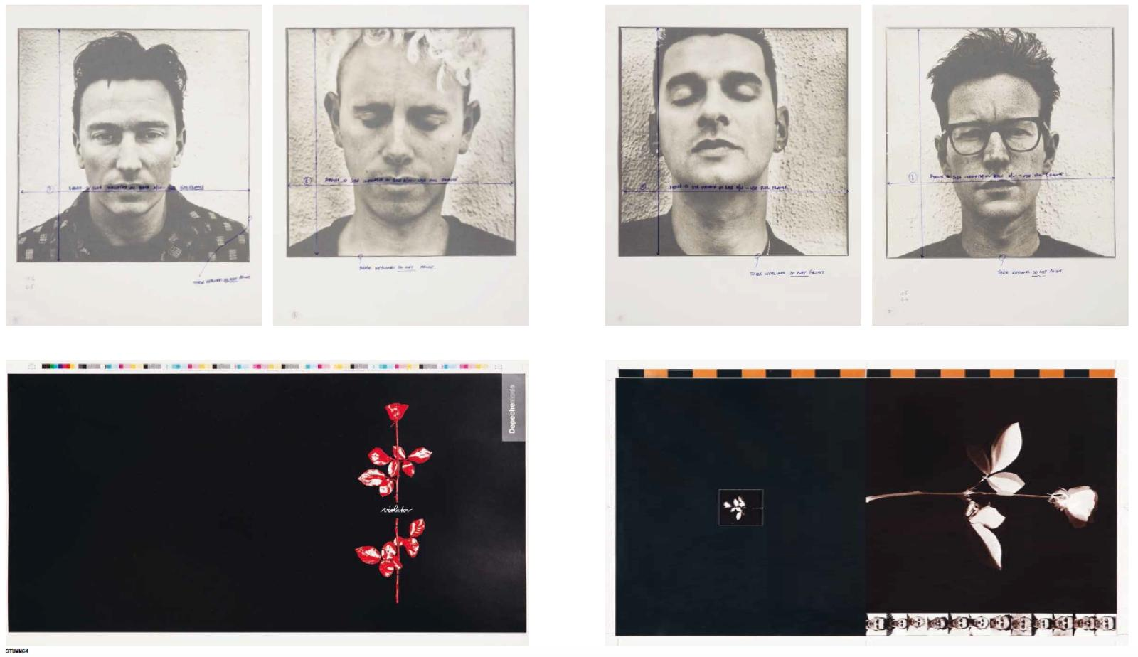 Mute Buch Depeche Mode Violator Proofs
