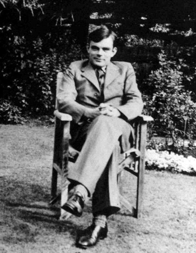 Alan Turing Porträt