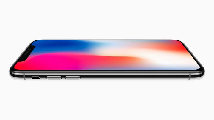 iPhone X Review Pressebild OLED