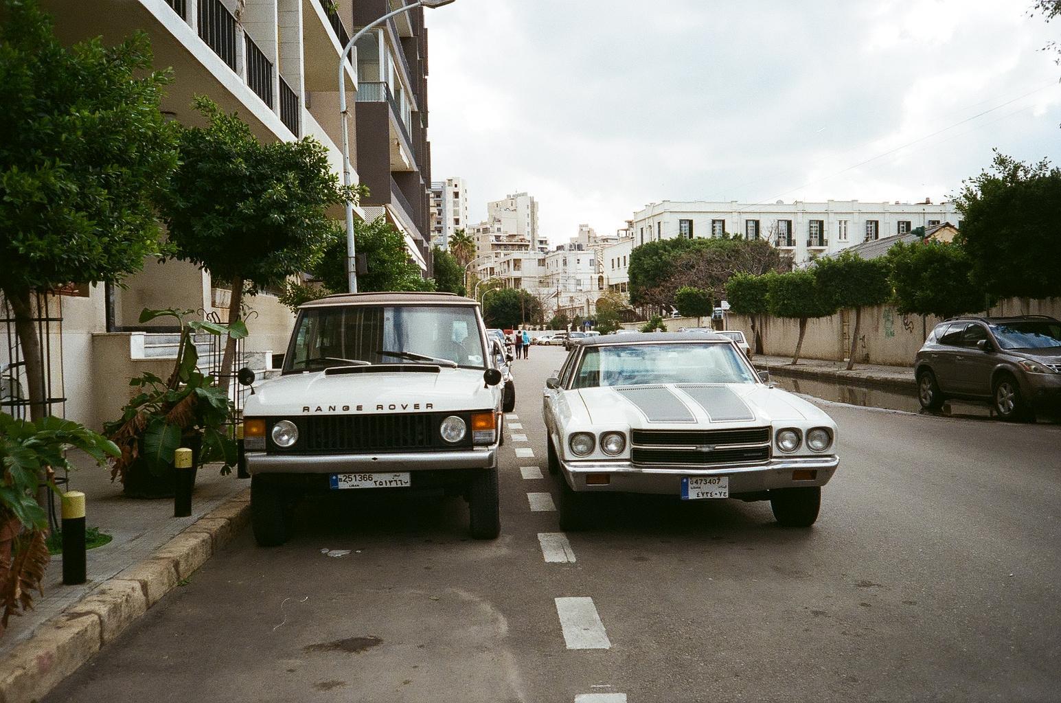 Beirut Range Rover