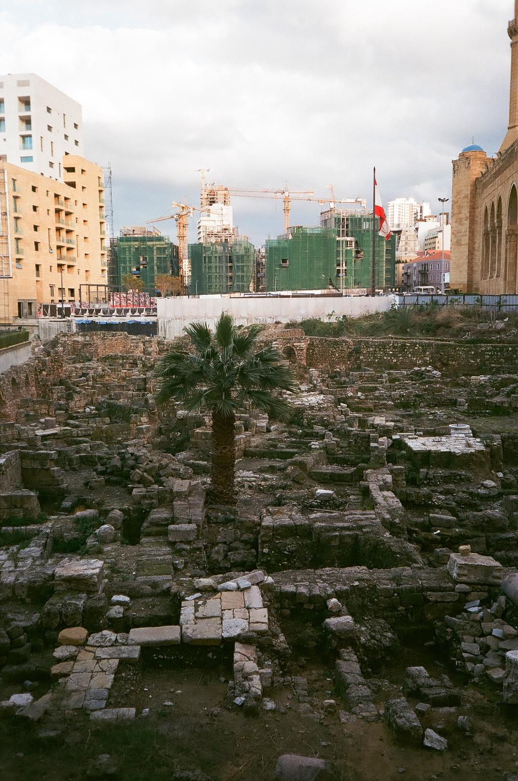 Beirut Ausgrabung