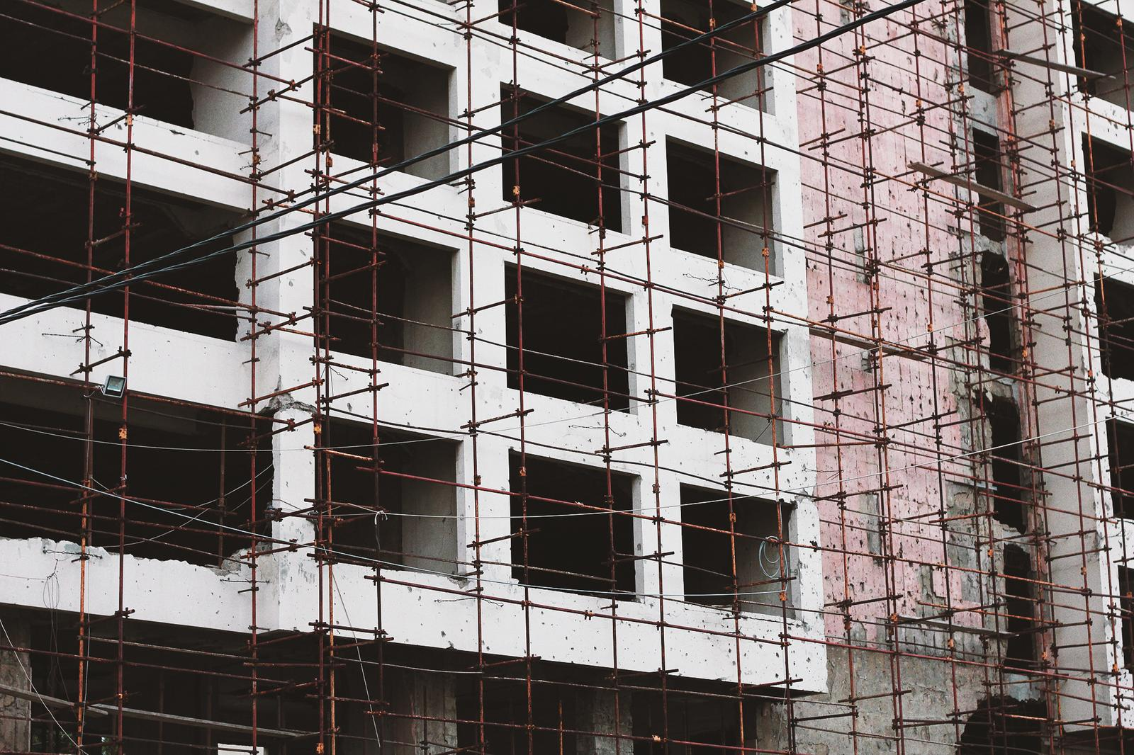 Beirut Baustelle