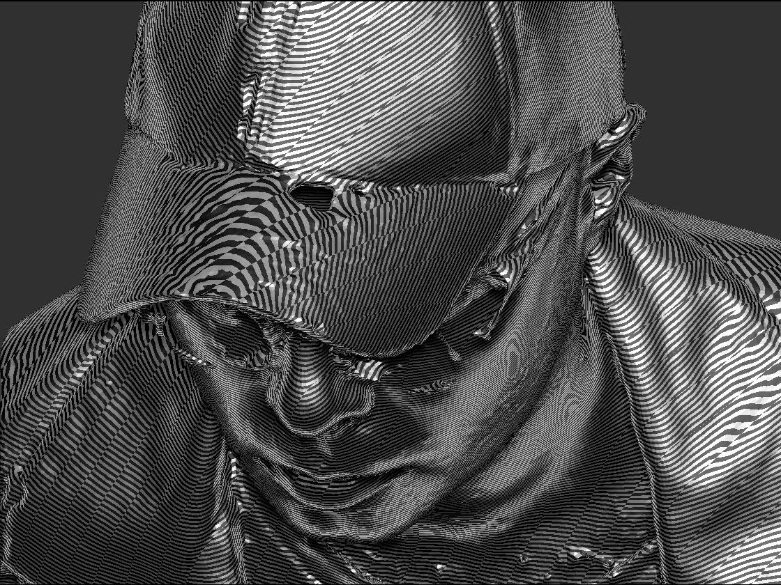 Moire Render Reflections