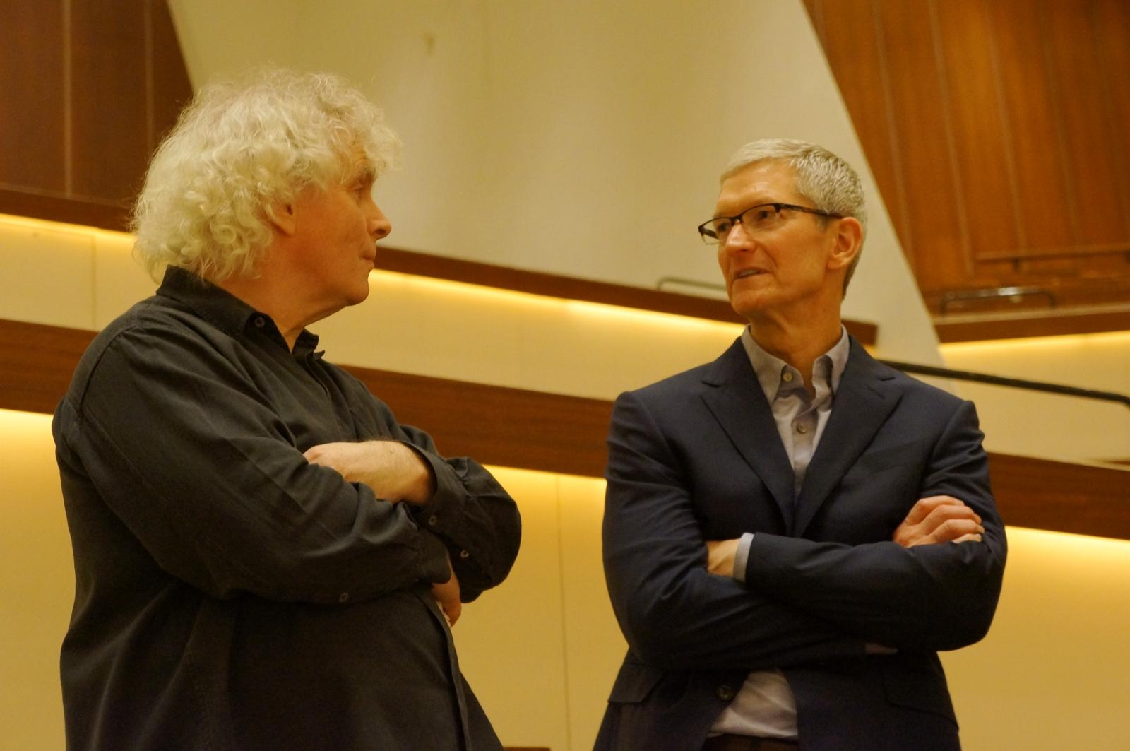 Digital Concert Hall Tim Cook CLOSER