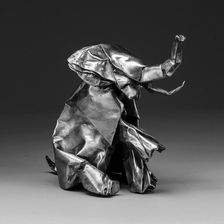 Jlin Black Origami Cover