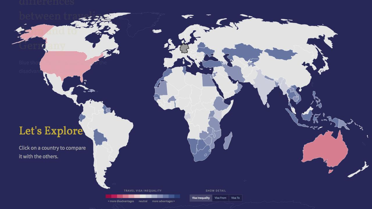 Gute Karten travel-visa-inequality
