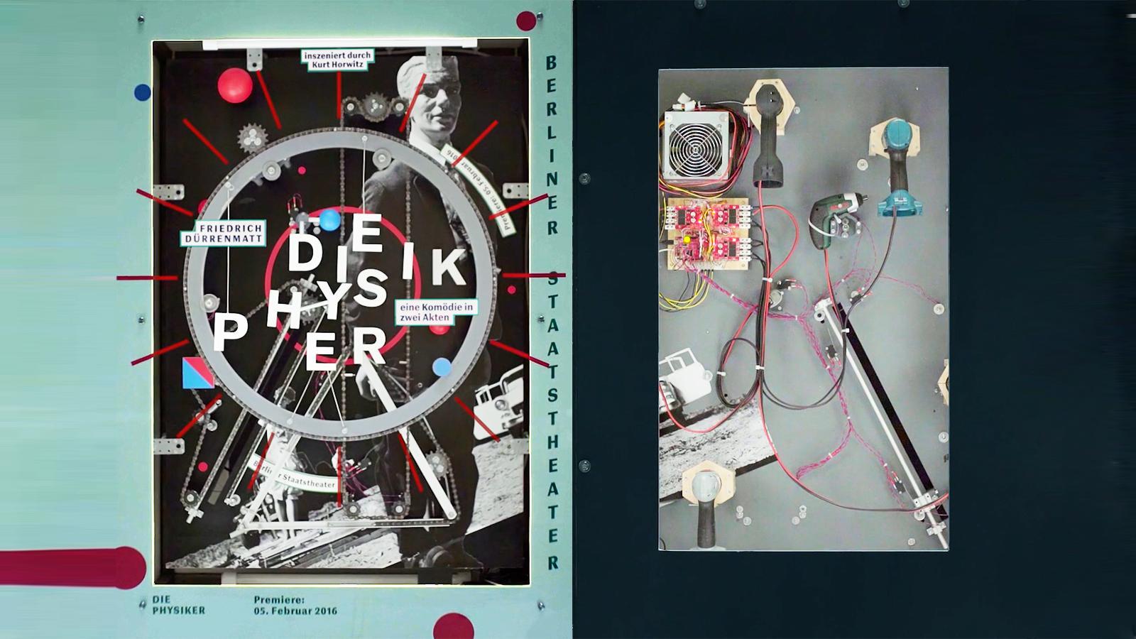 Theaterplakate alive - Faust und Physiker als analoges Bewegtbild ...