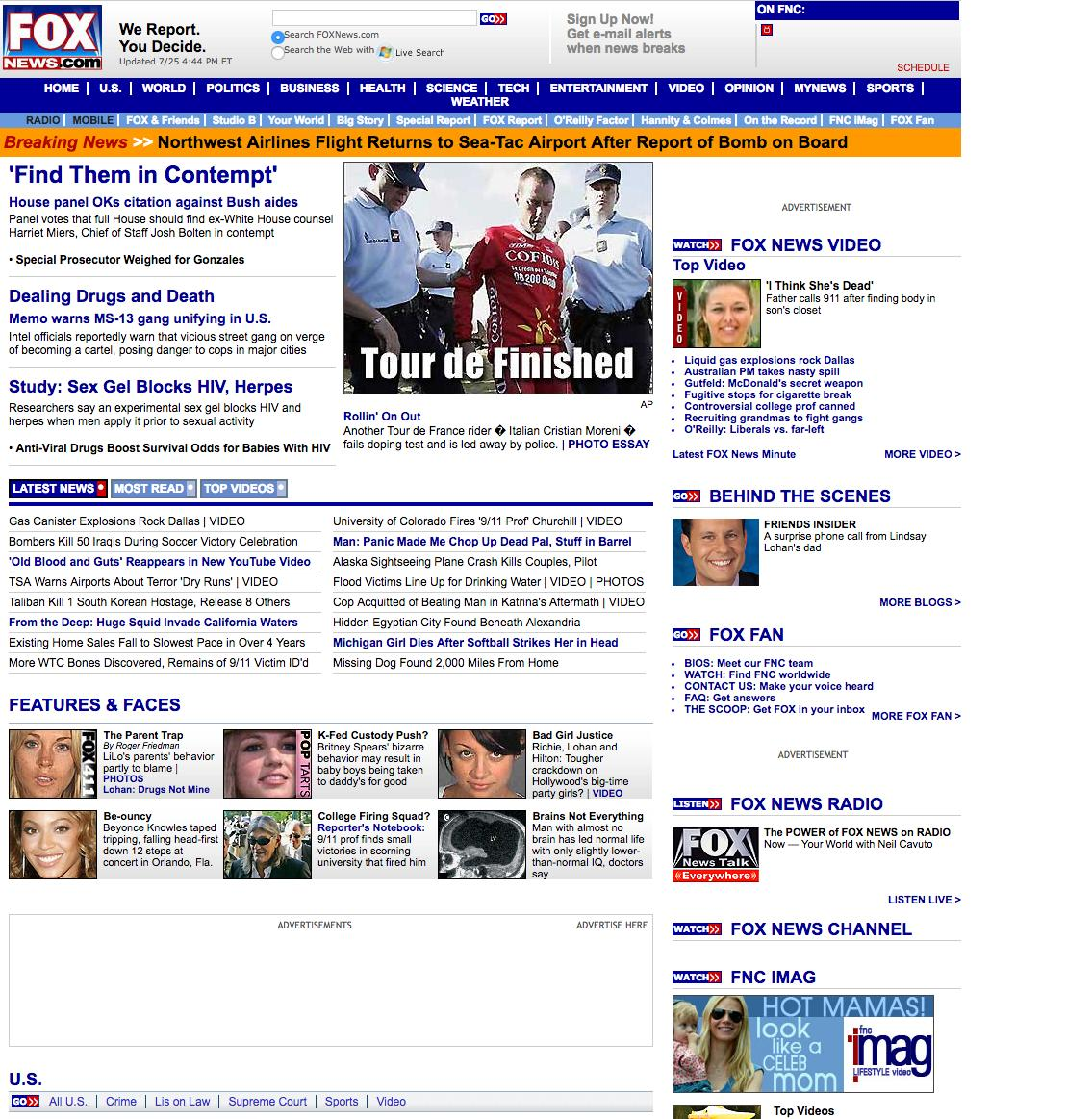 Ten Years Ago Fox