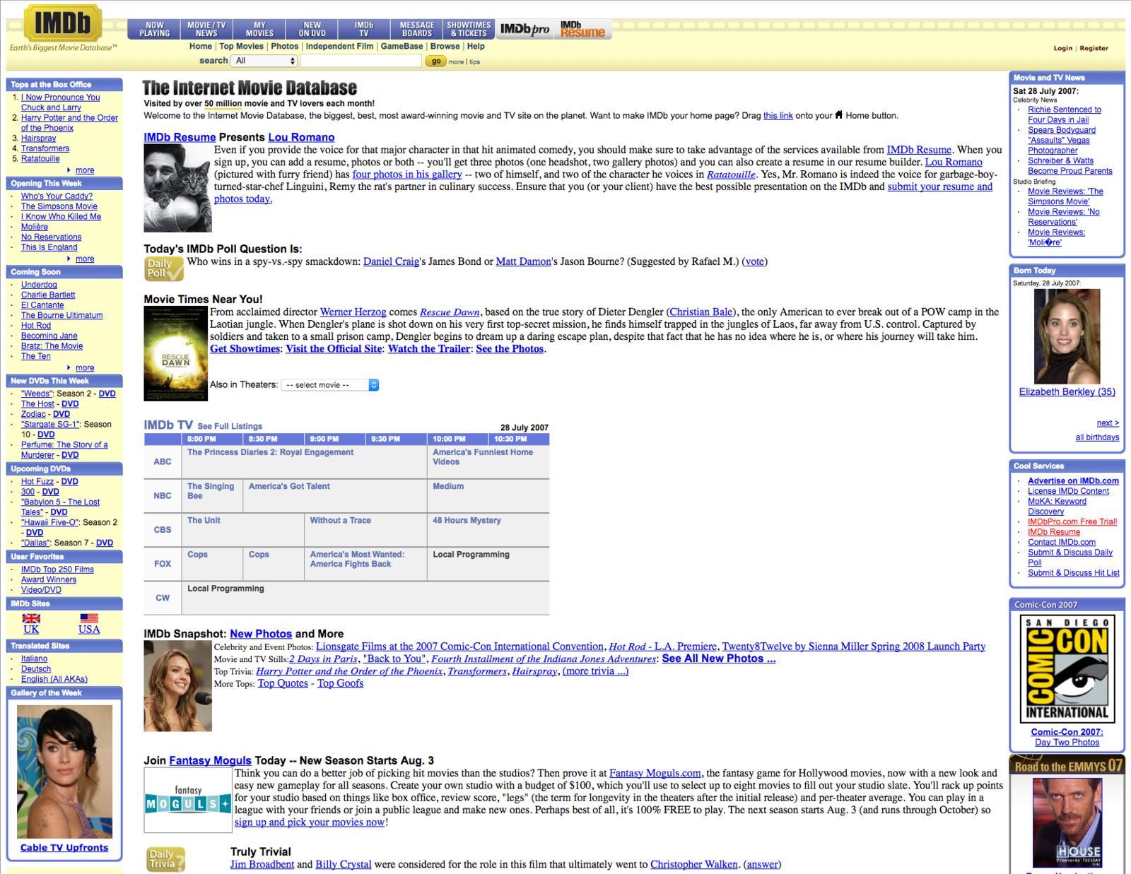 Ten Years Ago IMDB
