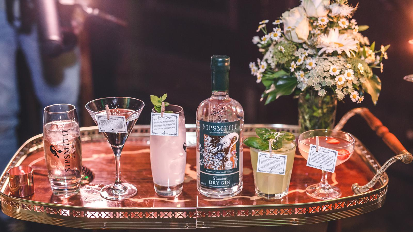 sipsmith drinks