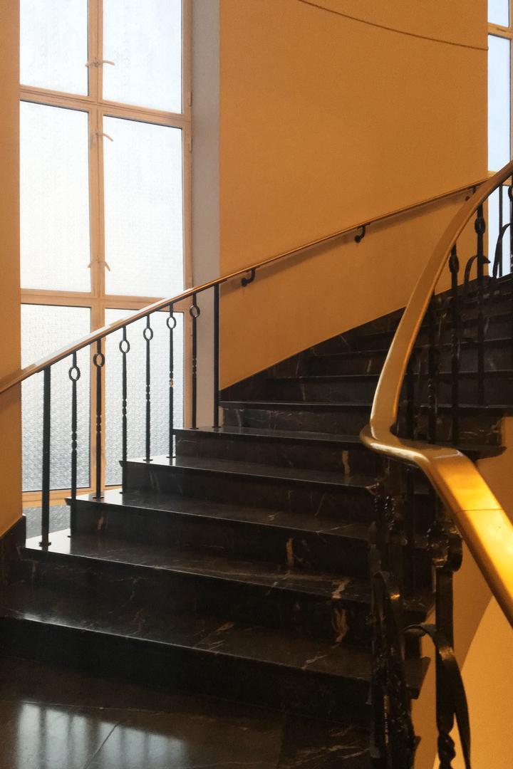 Volksbuehne Treppe 20170926