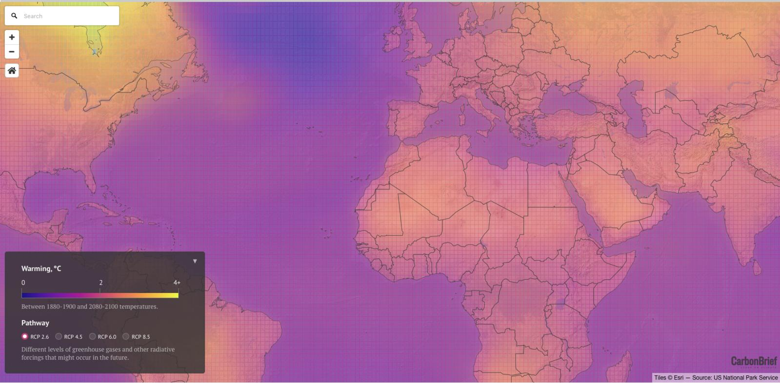 Gute Karten Klimawandel alt