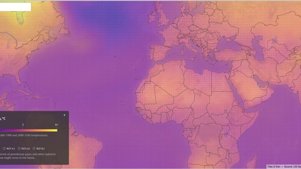 Gute Karten Klimawandel