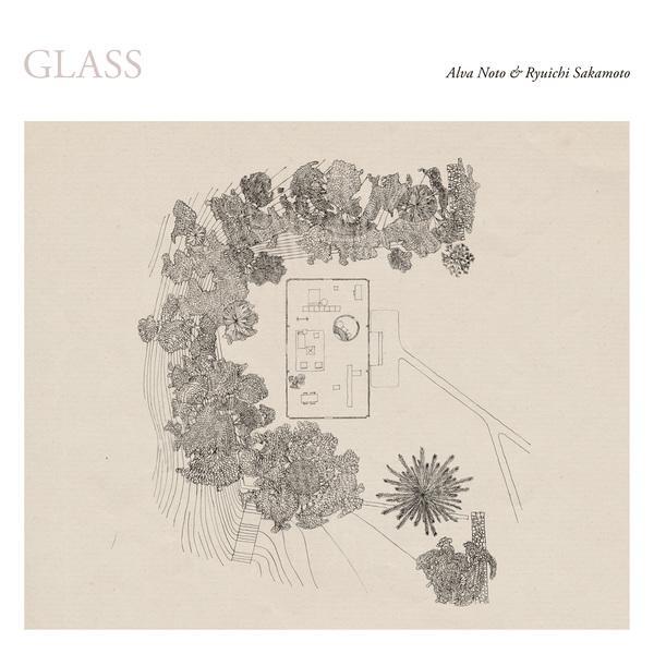 Alva Noto & Ryuichi Sakamoto Glass Cover