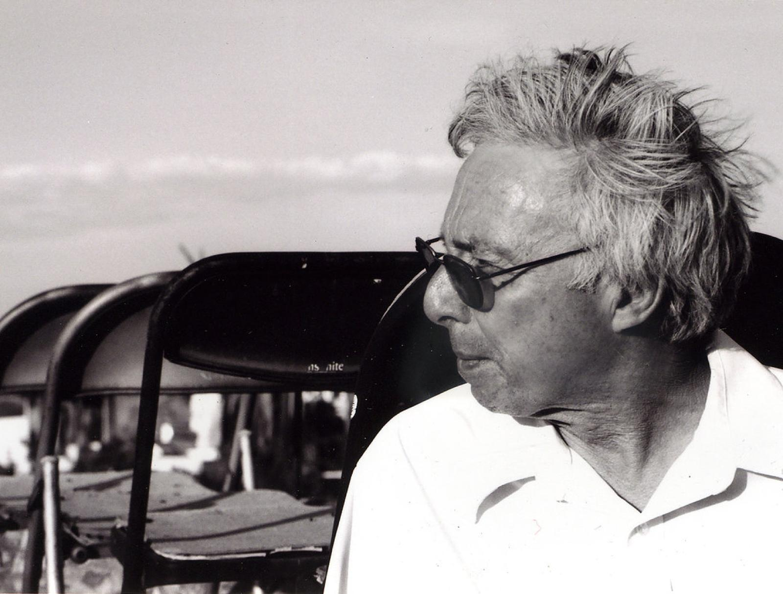 Rewind Harold Budd Porträt