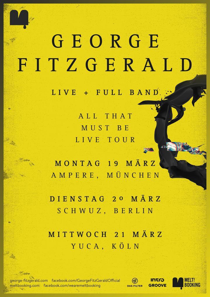 George Fitzgerald tourplakat