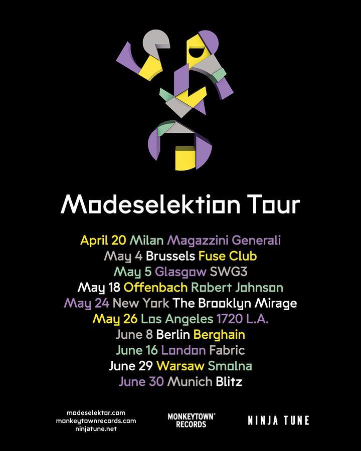 Modeselektion Tour