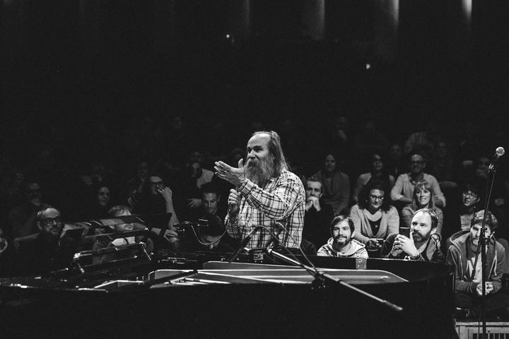 2018 — Lubomyr Melnyk live at Erased Tapes is ten. Festival at Funkhaus Berlin - photo by Patricia Haas 01