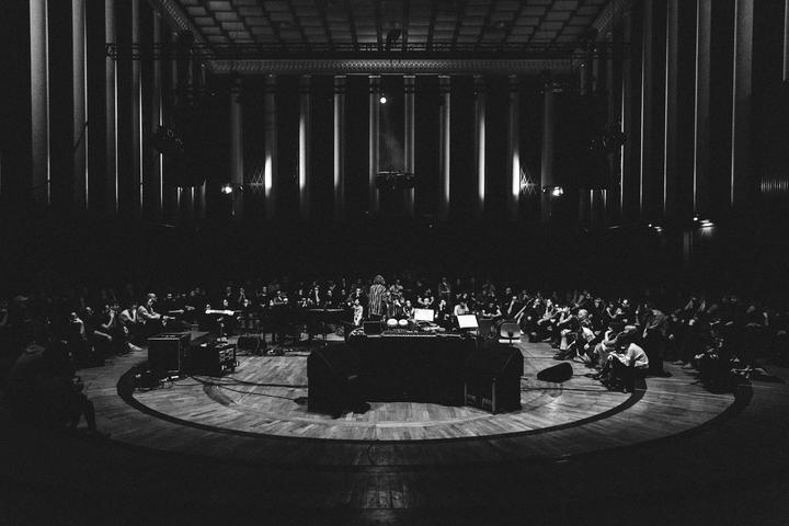 2018 — Robert Raths - Erased Tapes is ten. Festival at Funkhaus Berlin - photo by Patricia Haas 02