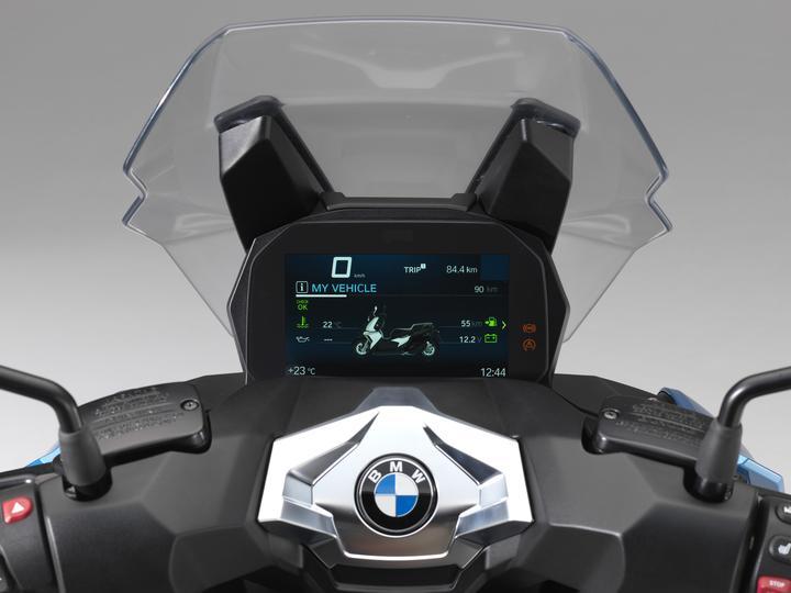 BMW C 400 X Dashboard