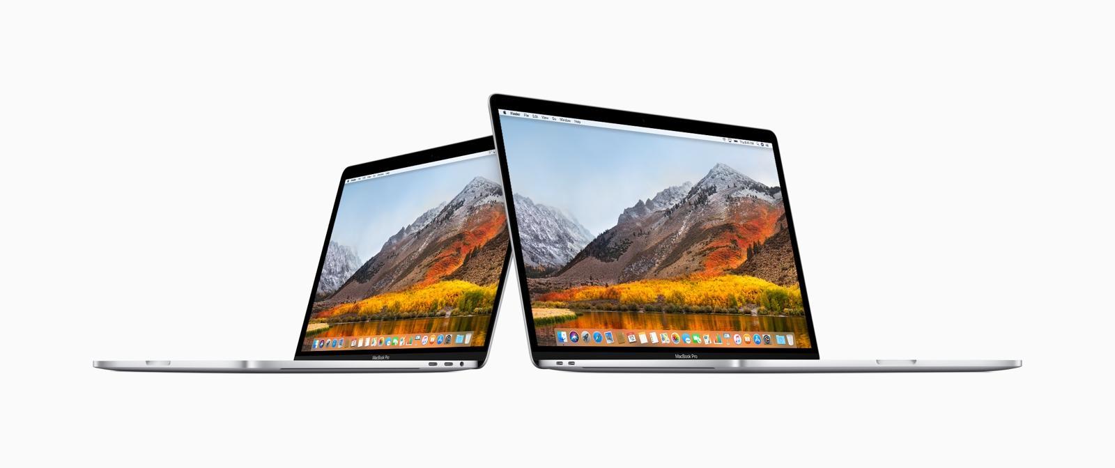 MacBook Pro 2018 - Pressebild