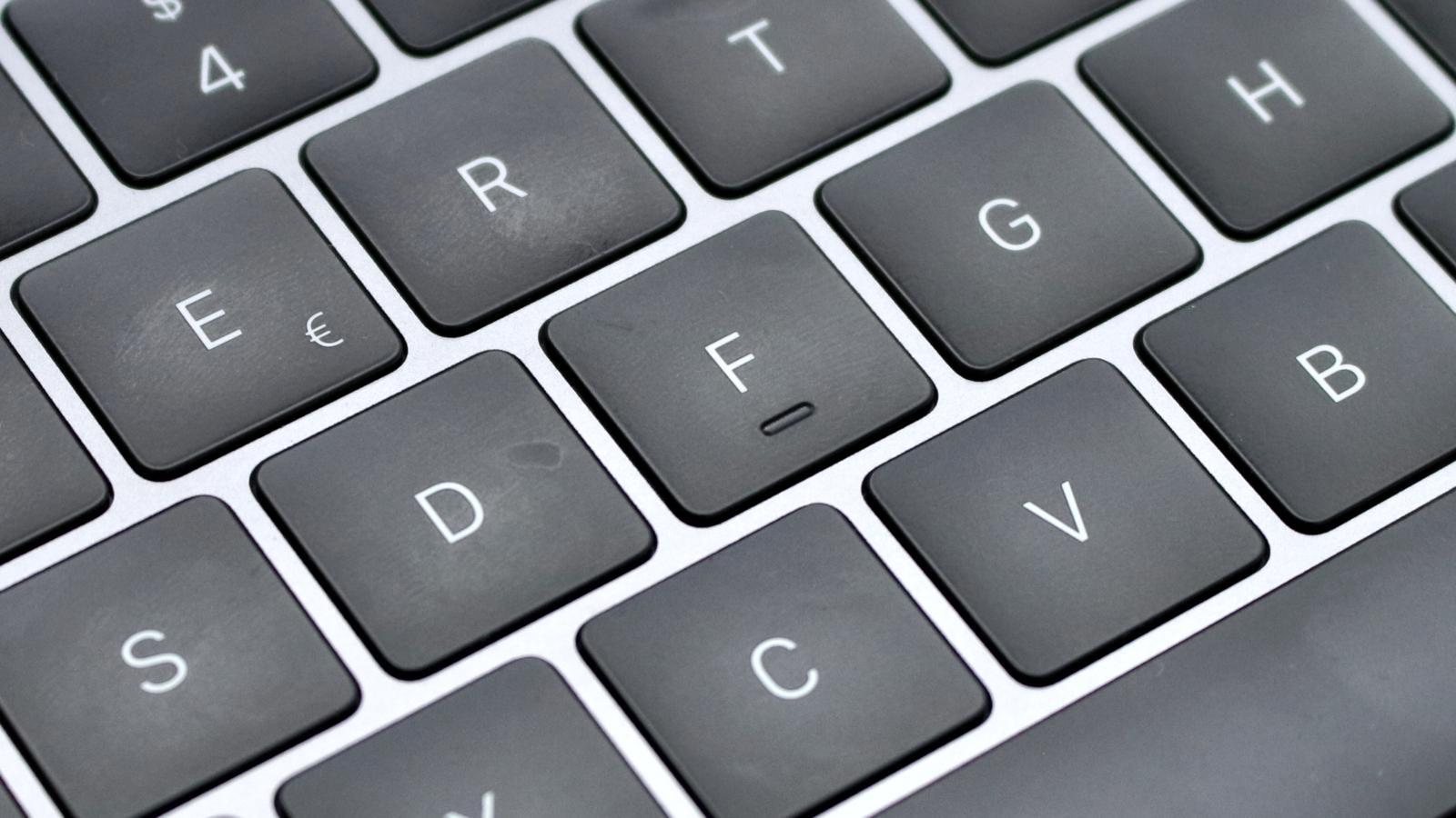 Review MacBook Pro 2018 Tastatur