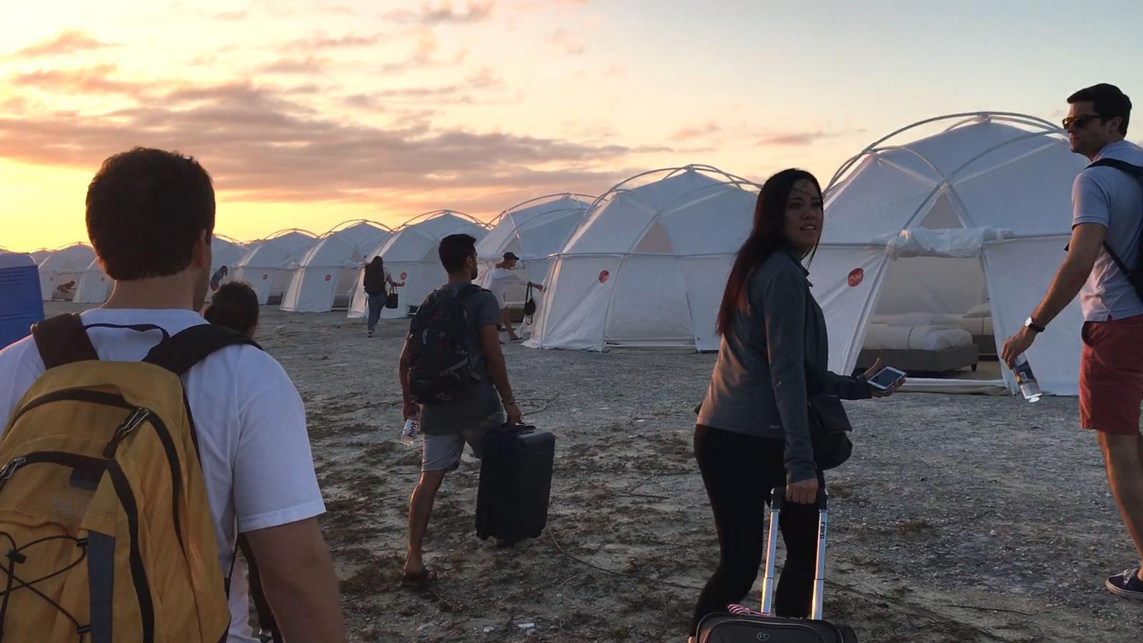 Fyre Tent