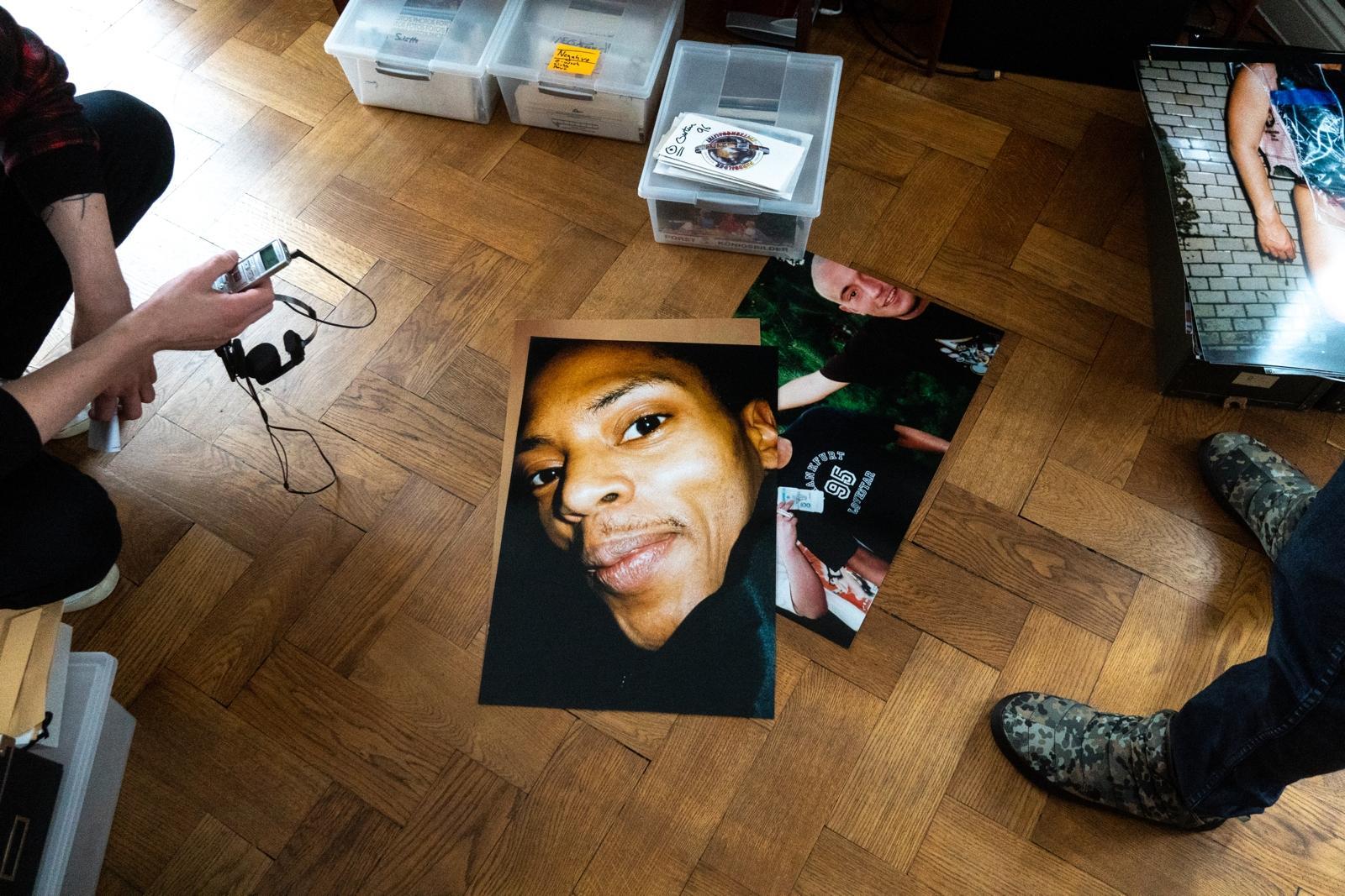 Zeitmaschine Portrait von Jeff Mills