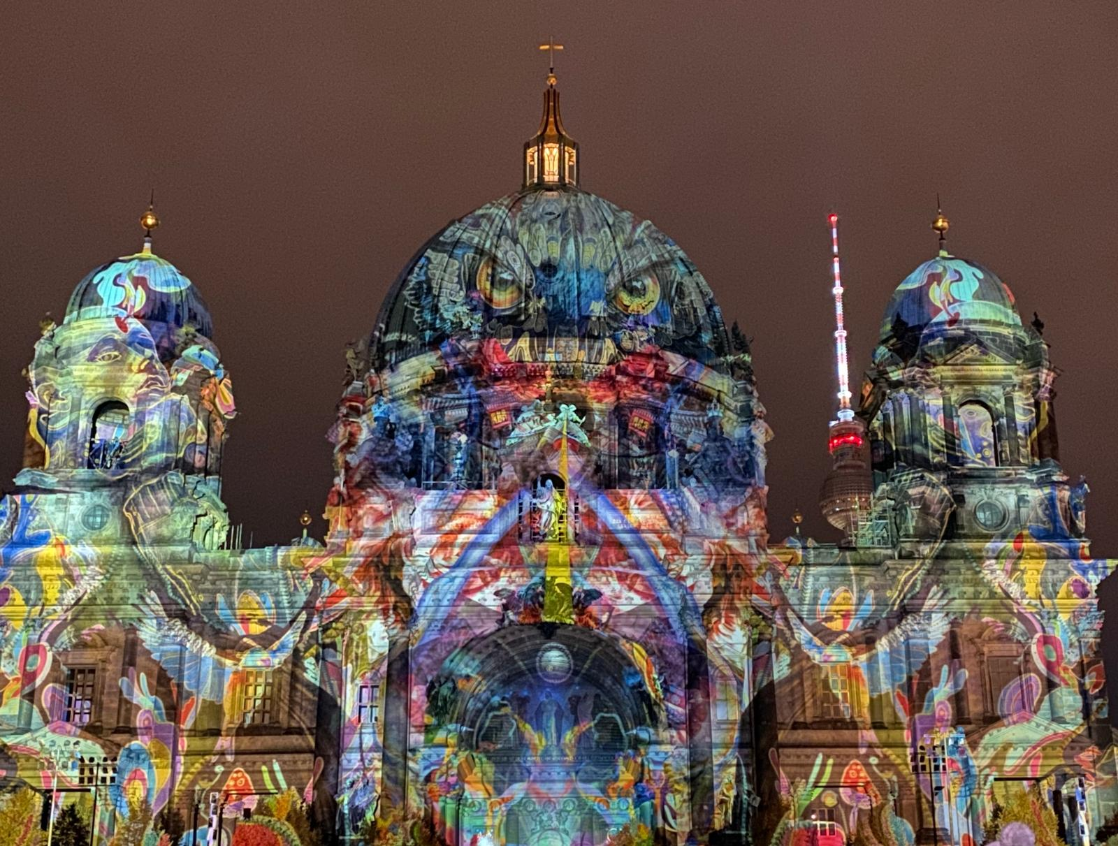 Festival Of Lights Berliner Dom 3 iPhone 11 Pro Max