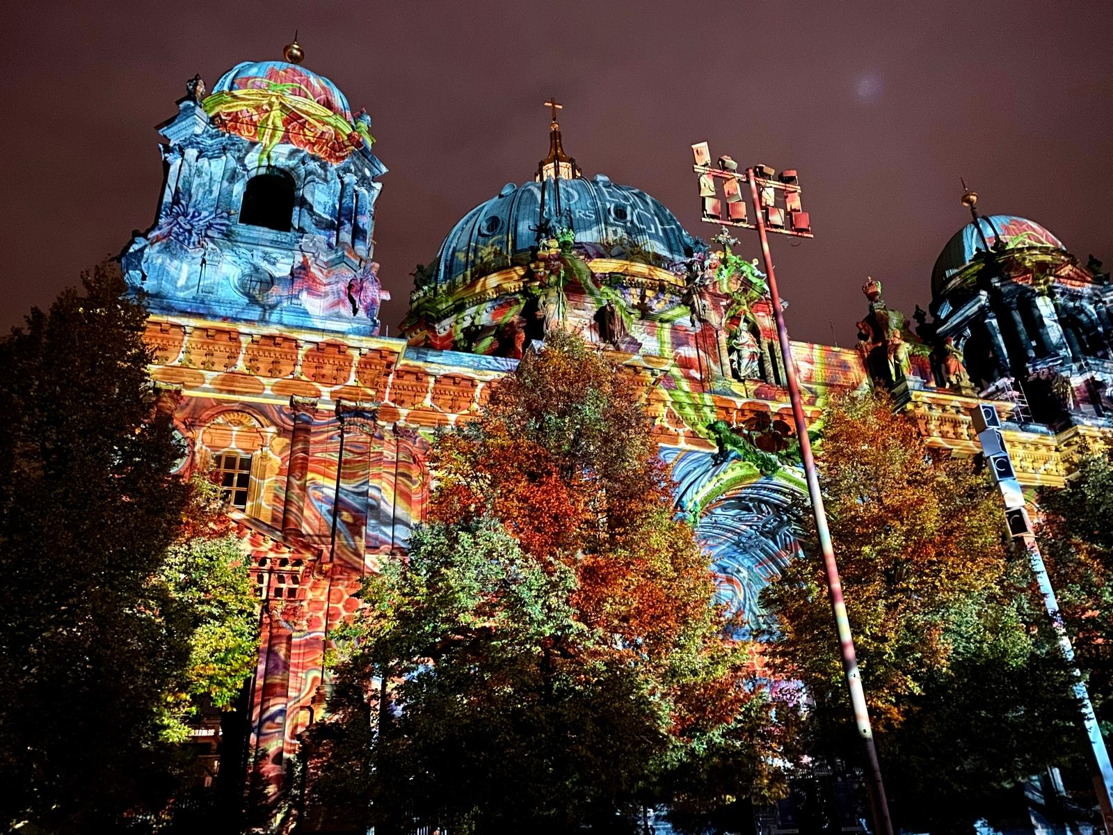 Festival Of Lights Berliner Dom iPhone 11 Pro Max