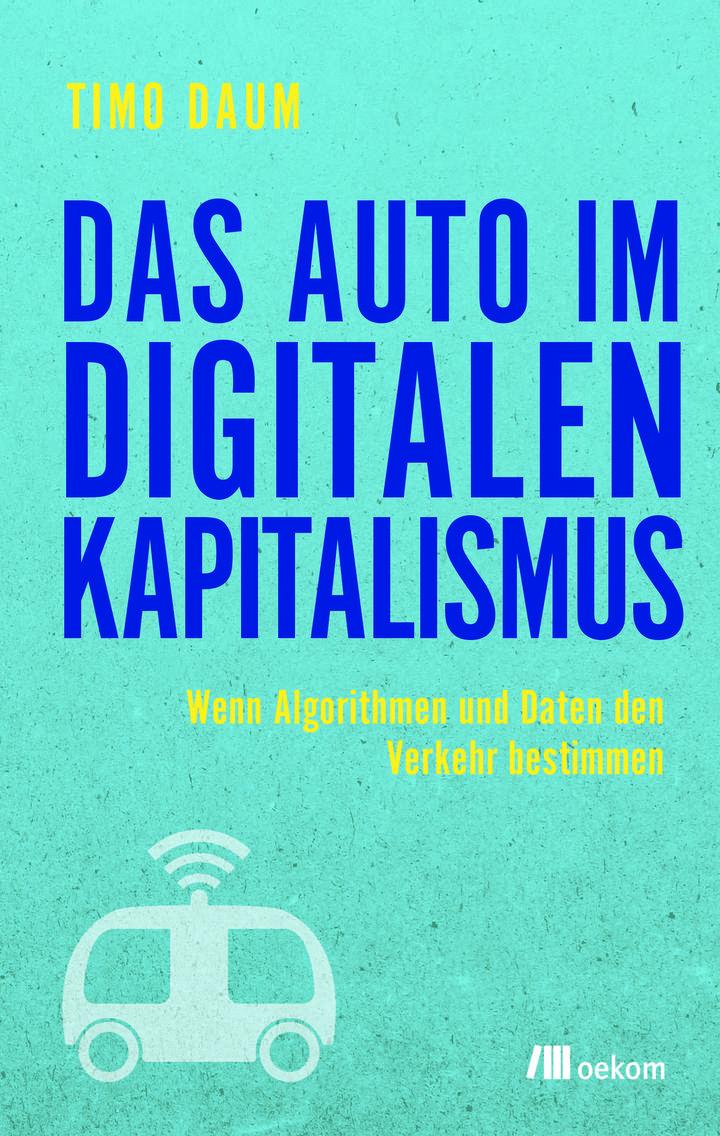 Pageturner Timo Daum Das Auto Im Digitalen Kapitalismus Cover
