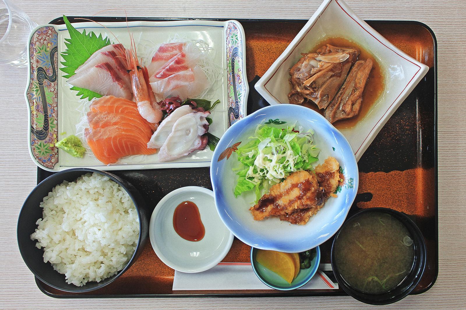 Sado Lunch Ryotsu