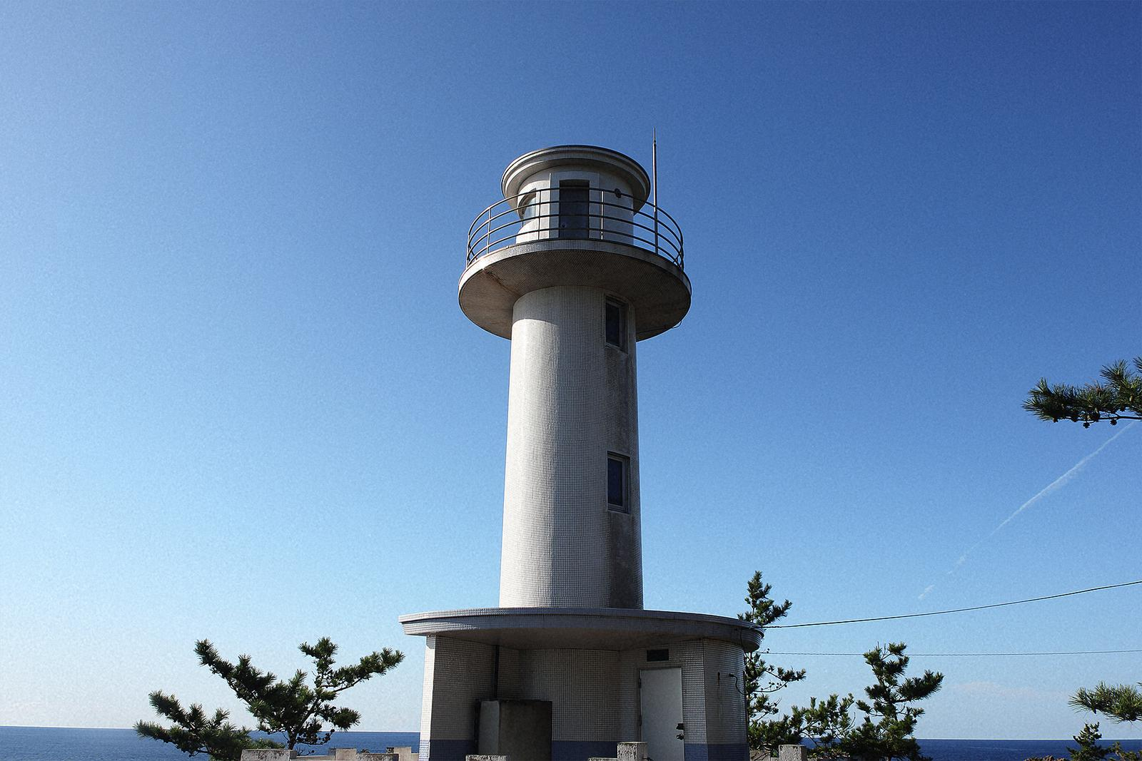 Sado Senkakuwan Leuchtturm