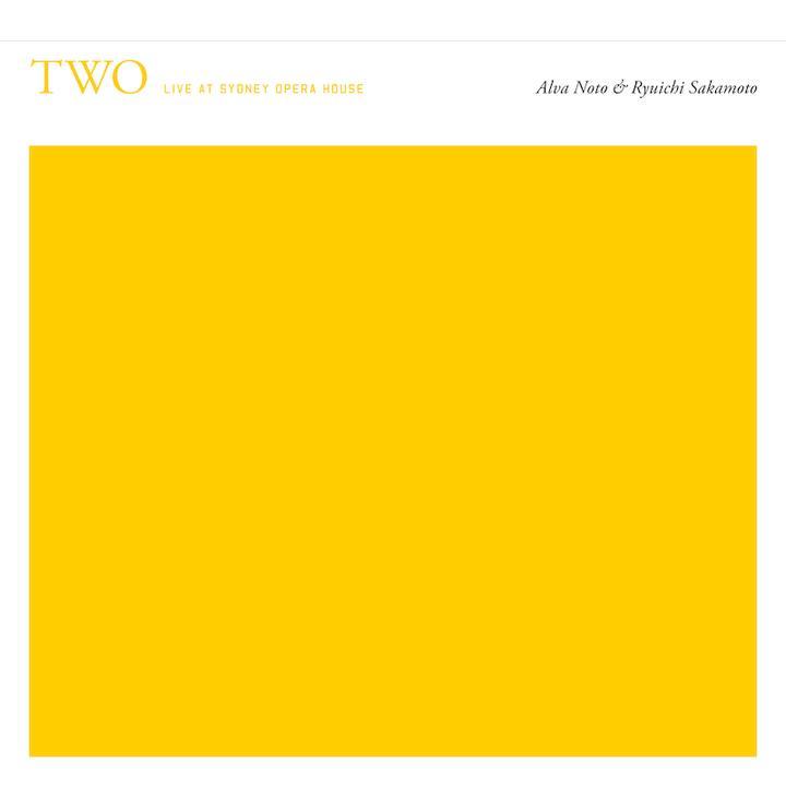 Alva Noto & Ryuichi Sakamoto Two Cover