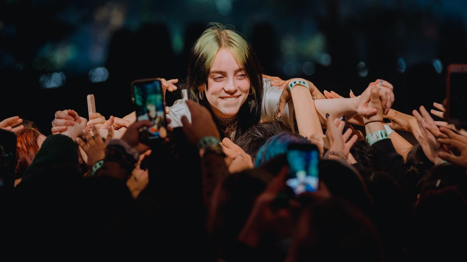 Apple Music Awards Billie Eilish lede